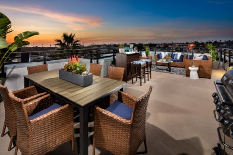 New townhomes in vibrant Oceanside from the $700,000's now selling at Vista del Mar