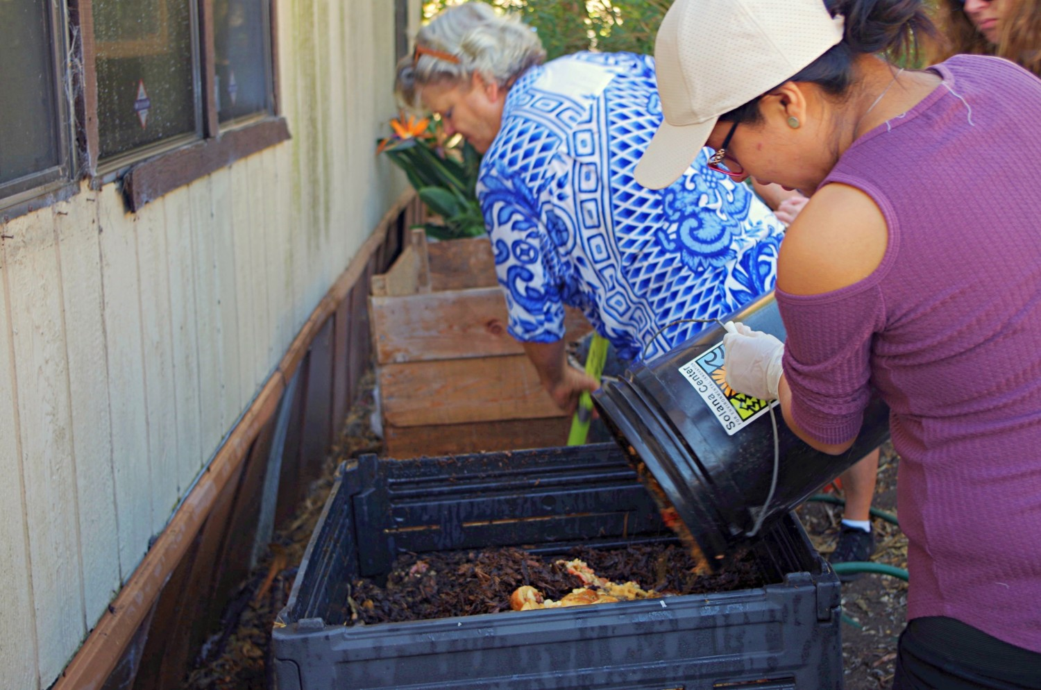Solana Center for Environmental Innovation offers locals a place to recycle waste and produce organic soil