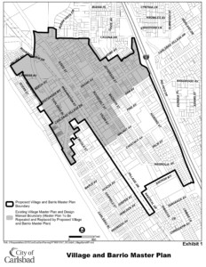 Village and Barrio Master Plan CN21568 map