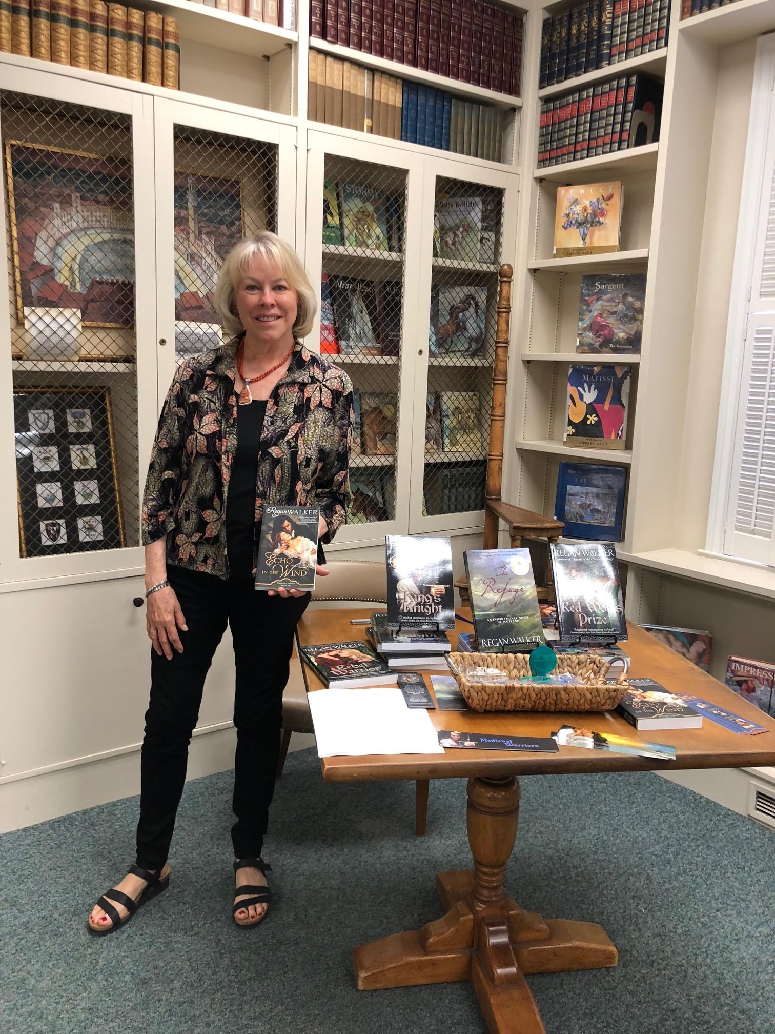 Historical-romance novelist stickler for details, authenticity