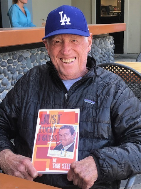 Encinitas resident Tom Stern hits home run in 'Just Lucky I Guess'