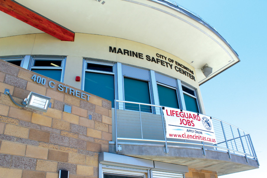 Grand opening scheduled for lifeguard tower — late and over budget