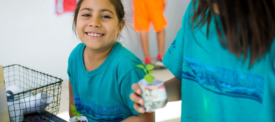 Buena Vista Elementary gets first visit from The Ecology Center