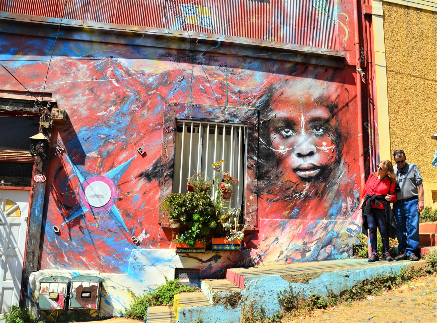 Hit the Road: In Valparaiso, Chile, murals take street art to a whole new level