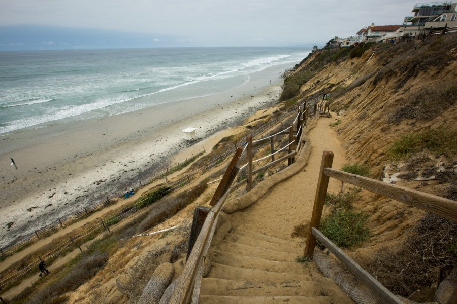 Encinitas pledges to fund 'shovel-ready' Beacon's staircase project