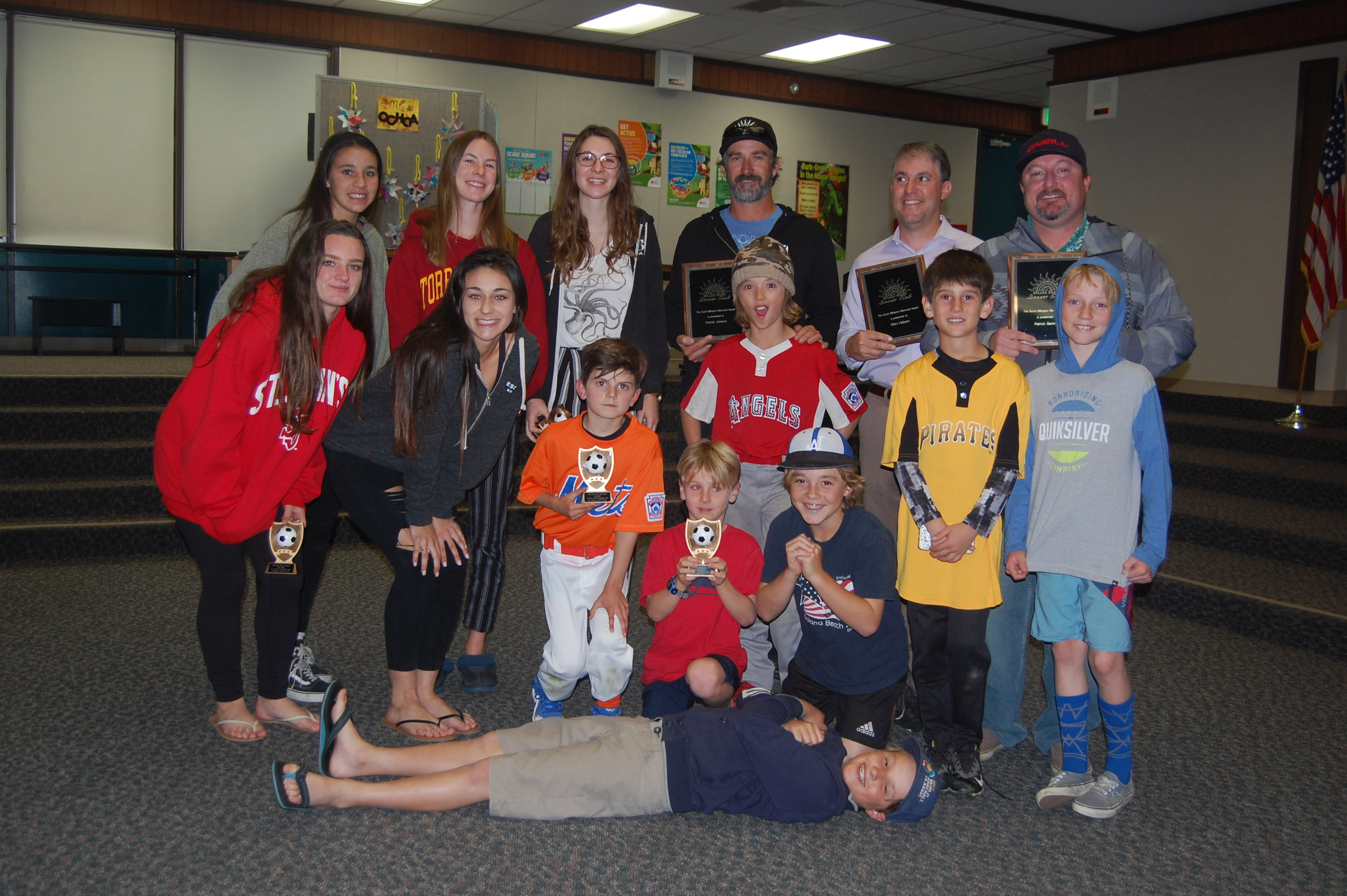 Soccer club honors players, coaches