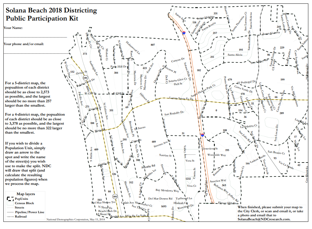 Process to draw districts underway