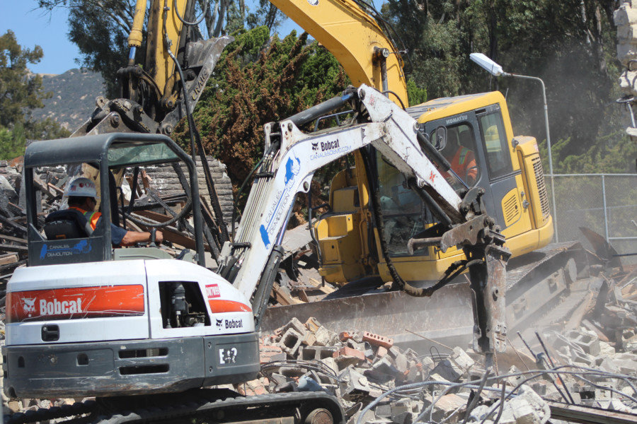 Demolition a step forward for country club plan