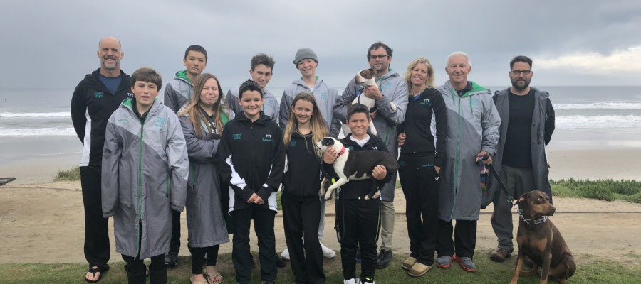Sea Change student swim team seeking fourth world record