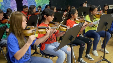 Music roaring back into schools thanks to Sound United, VH1