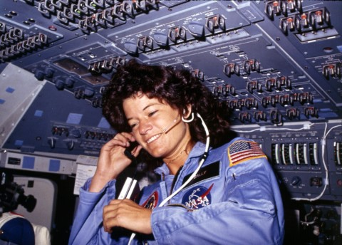 Astronaut Sally Ride commemorated on new stamp