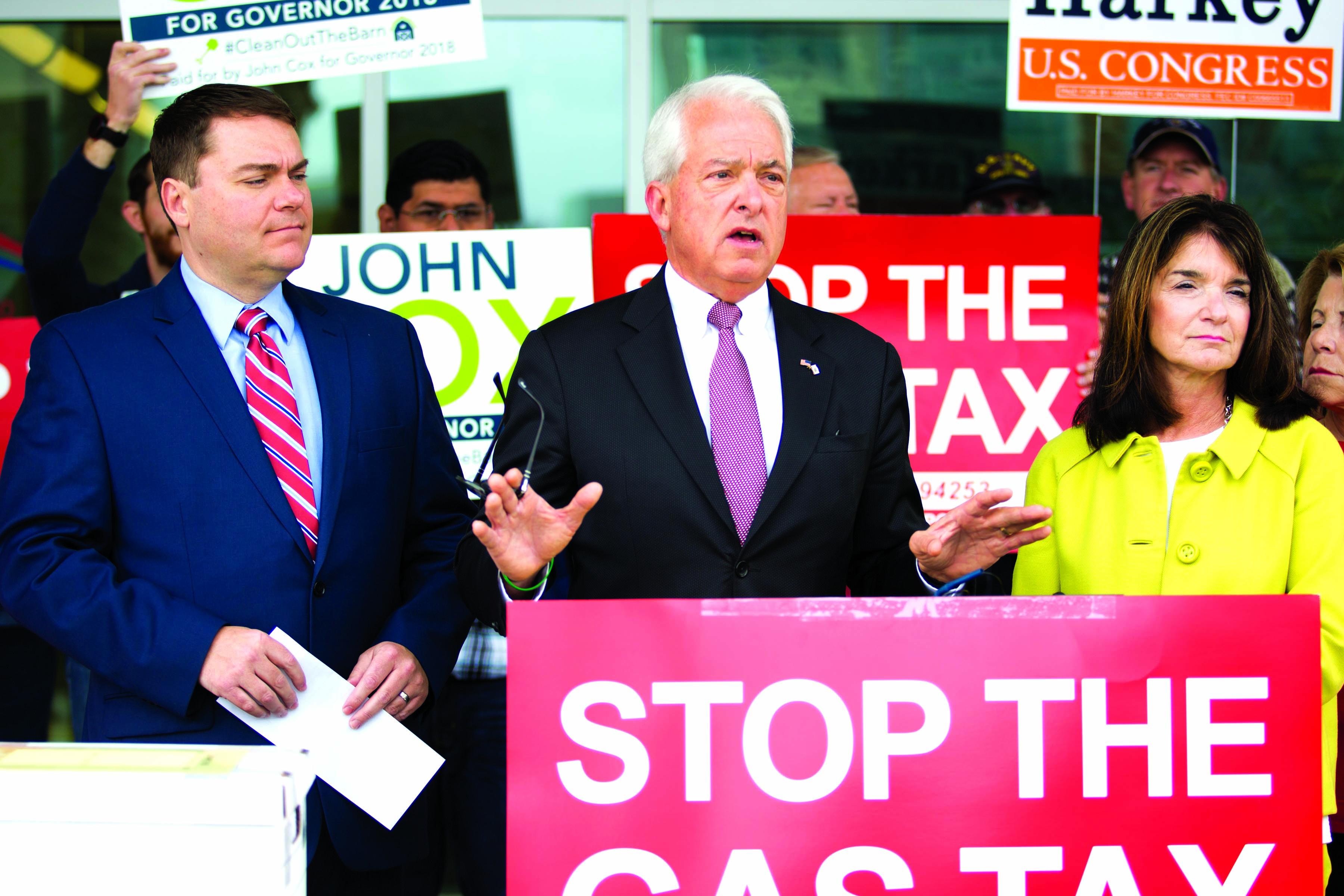 RSF gubernatorial hopeful fails to win GOP backing