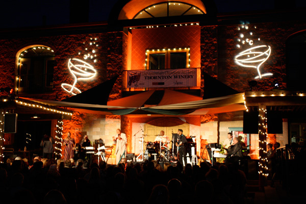 Taste of Wine: Jazz, wine & food at Thornton Winery champagne concerts