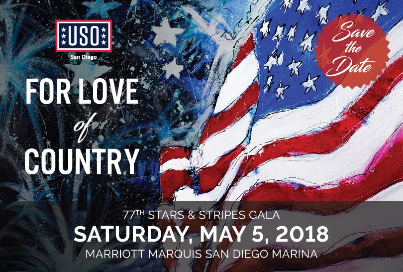 USO San Diego prepares for 77th annual Stars and Stripes Gala