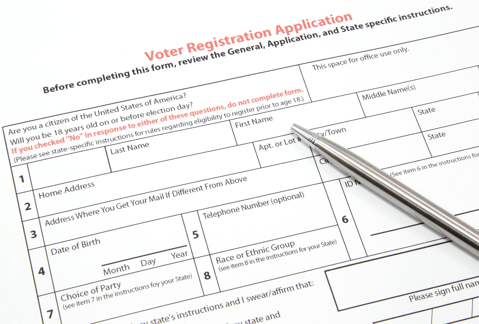 Today is the deadline to register to vote in June primary