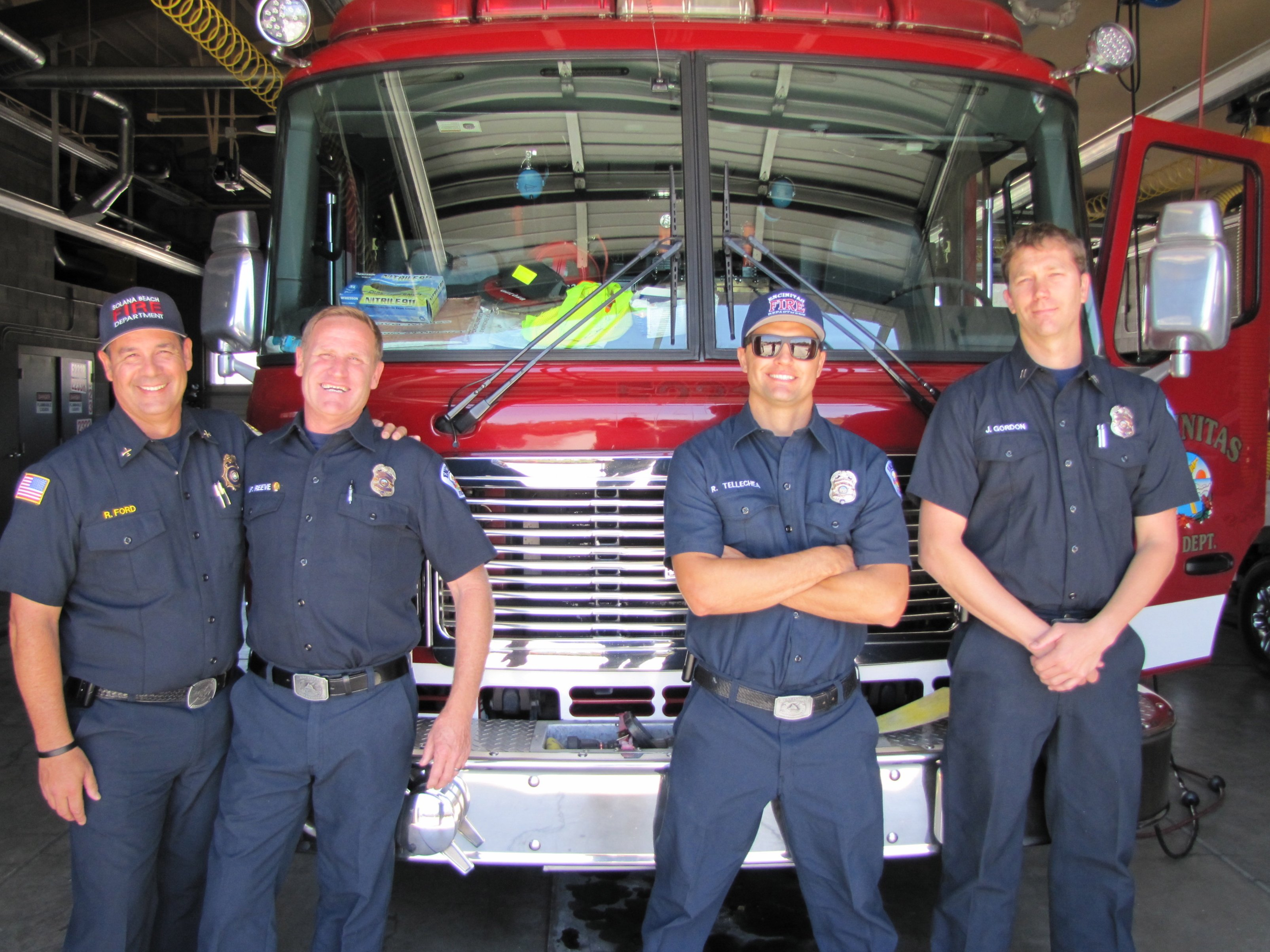 Local firefighters get ready for fire season