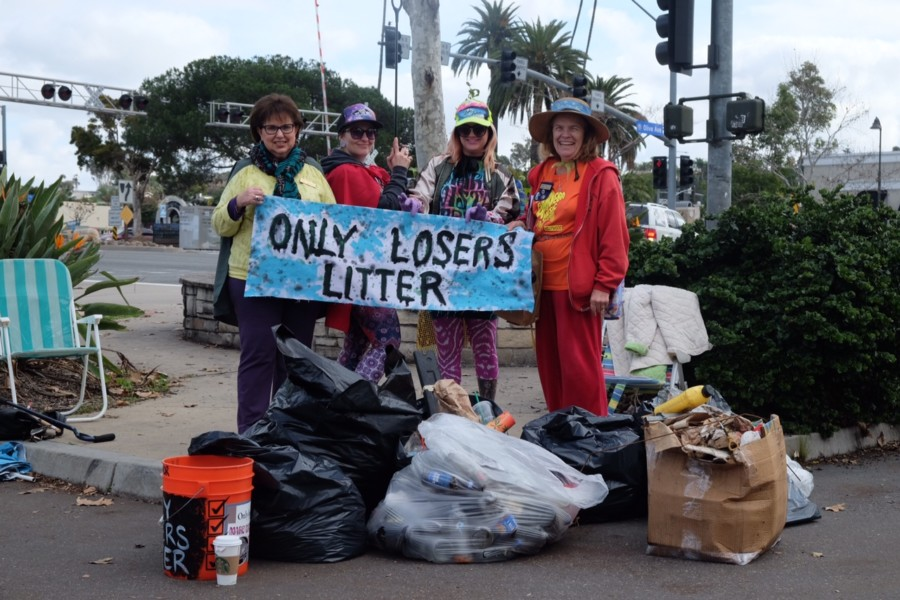 Only Losers Litter Trash Walks aim to clean city