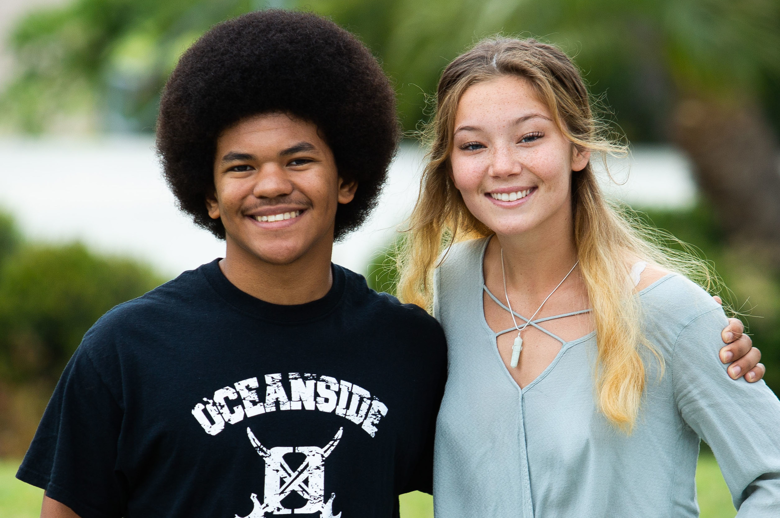 Two Oceanside High grads share their different paths to college