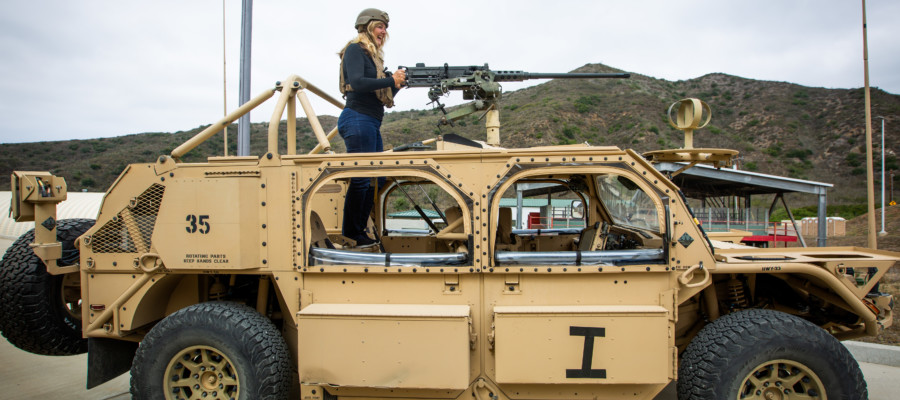 Jane Wayne Day at Camp Pendleton