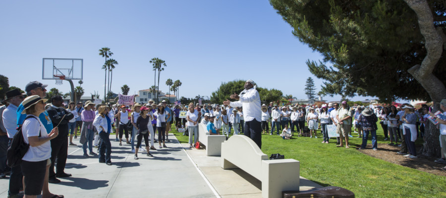 'Families Belong Together' rallies in Carlsbad