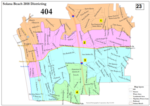 Council narrows district maps to two