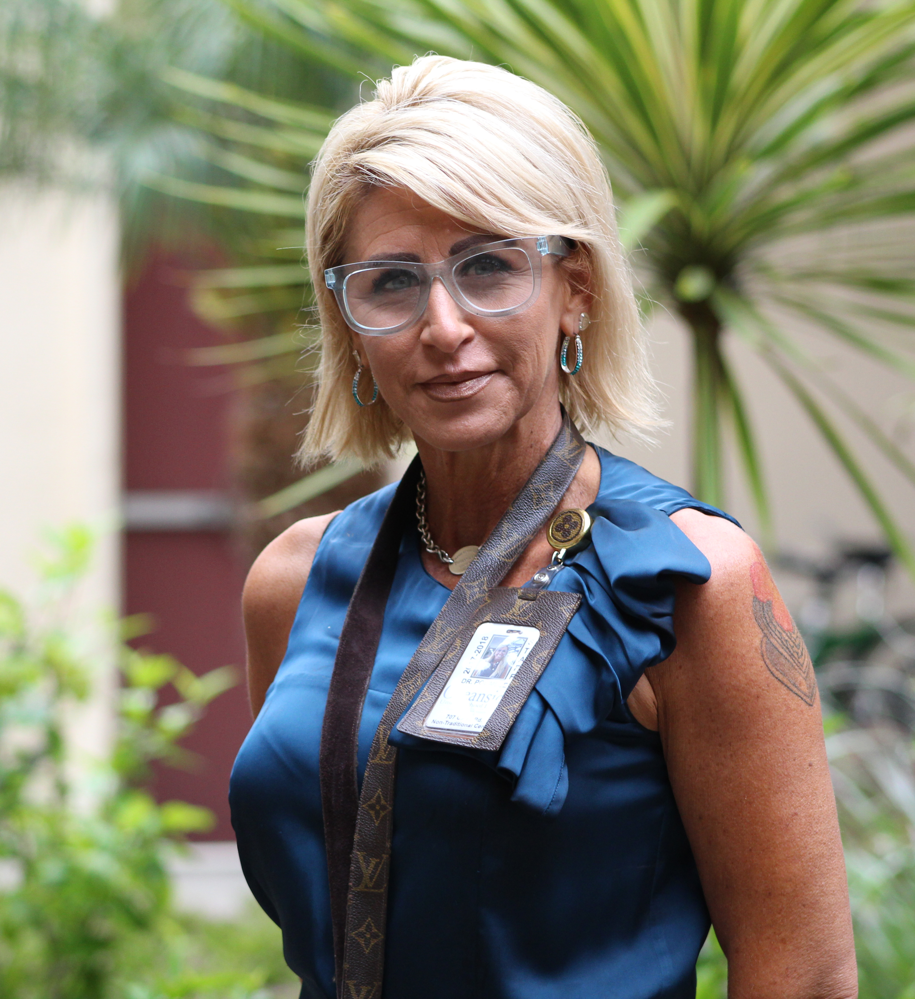 Stroke doesn't slow Oceanside principal Dr. Jessica Poumele