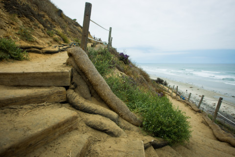 Group opposes city's staircase proposal at Beacon's Beach
