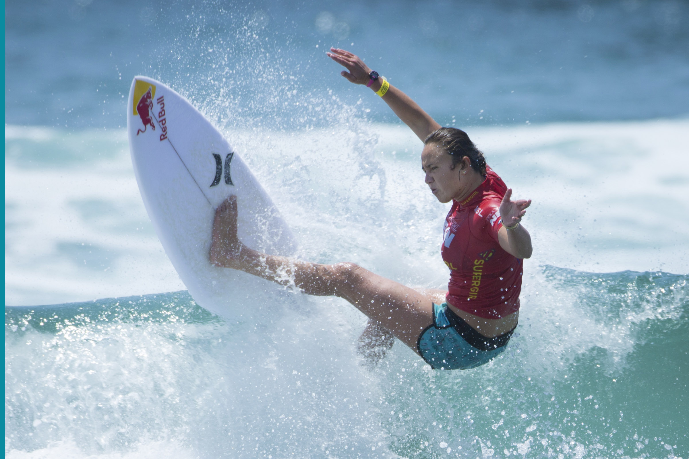 Day 3 results: Surf legend Carissa Moore claims the Supergirl Pro cape
