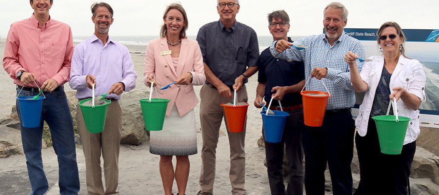 Cardiff State Beach honored for restoration efforts
