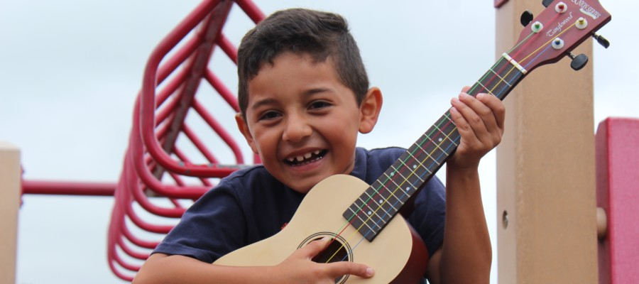 Guitars in the Classroom engages special-ed students