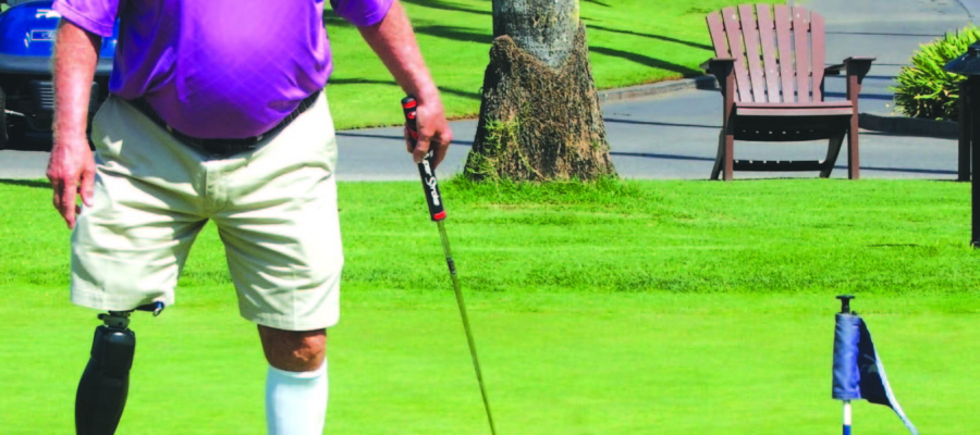 Play golf to help heal those injured in combat