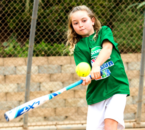 Encinitas girl takes third in national MLB 'Pitch, Hit and Run' contest