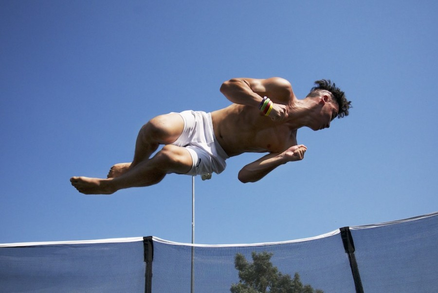 Trampoline games emerge as new trend at GTGames