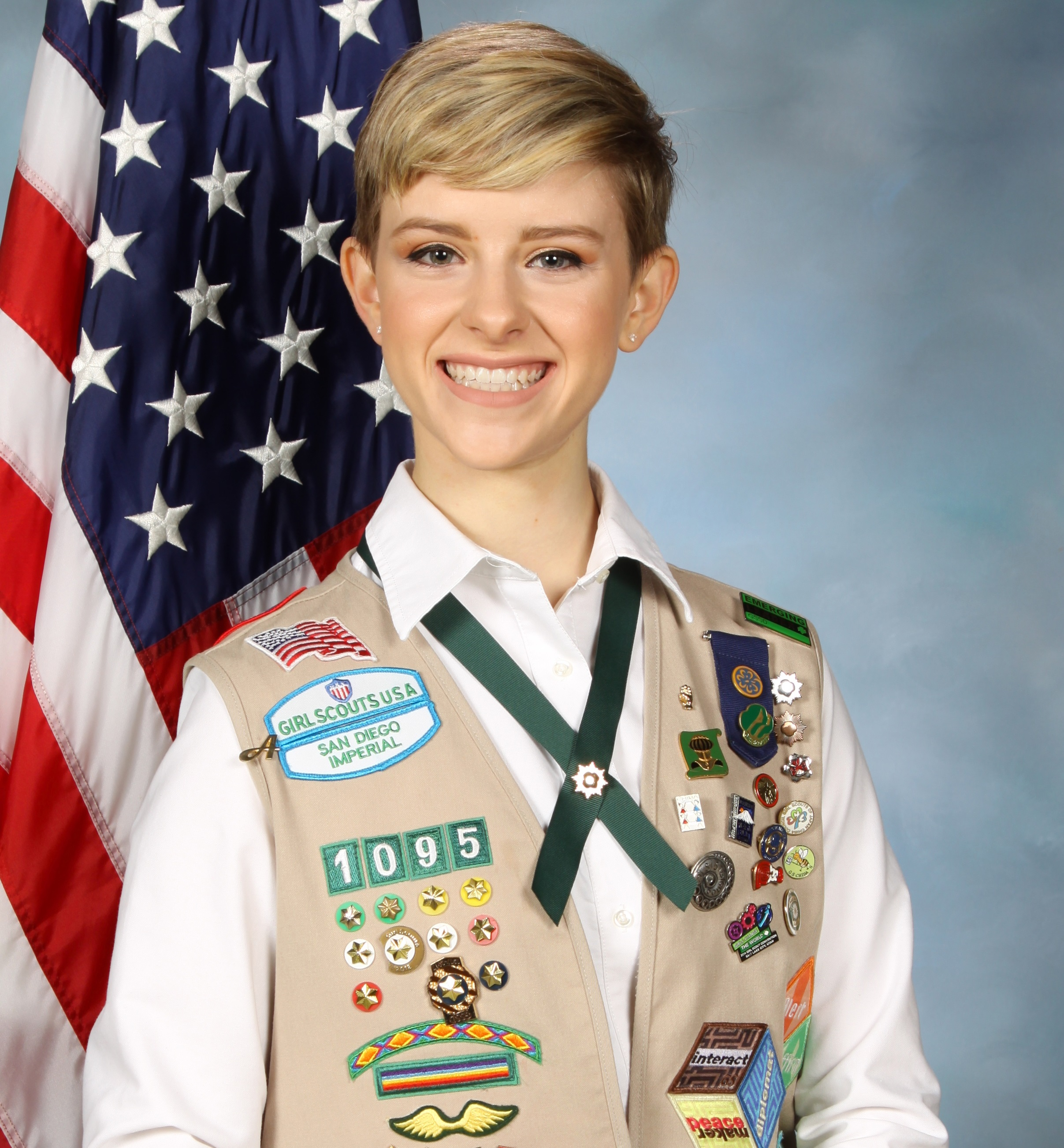 RSF Girl Scout earns highest honor