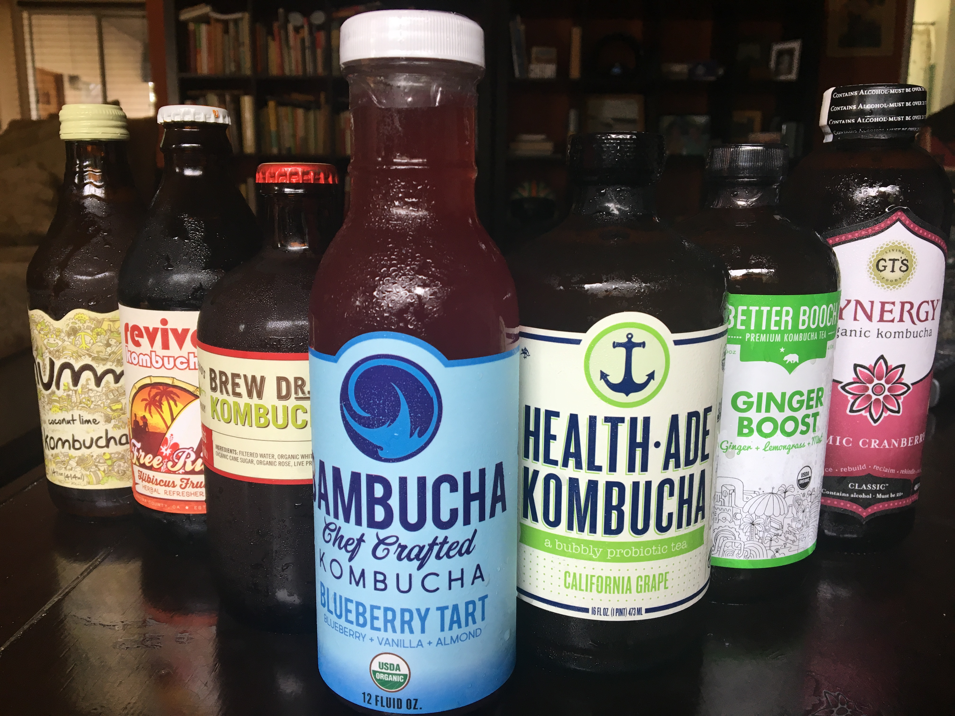 Diving into the bubbly world of kombucha