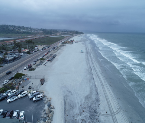 North County Beach Sand Replenishment Project Celebrates Completion and National Award