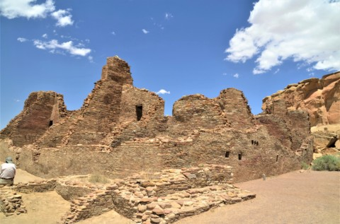 Touring the pueblos of Chaco Canyon in New Mexico