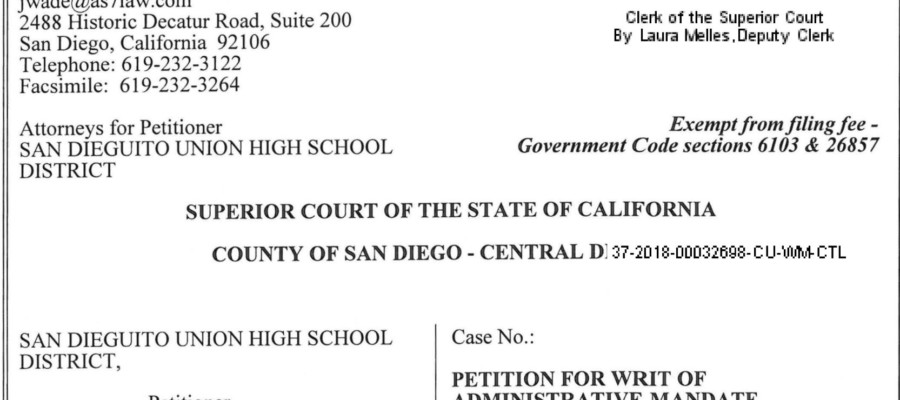 District sues county to let student's expulsion order stand