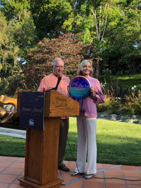 Bo Derek presented with HWAC's Humane Award