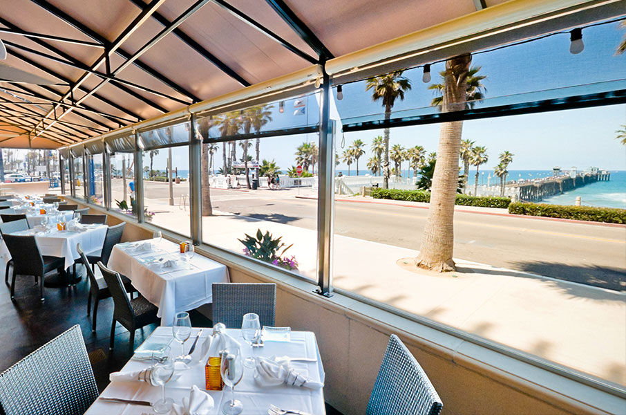 Fine dining with a killer view at 333 Pacific in Oceanside