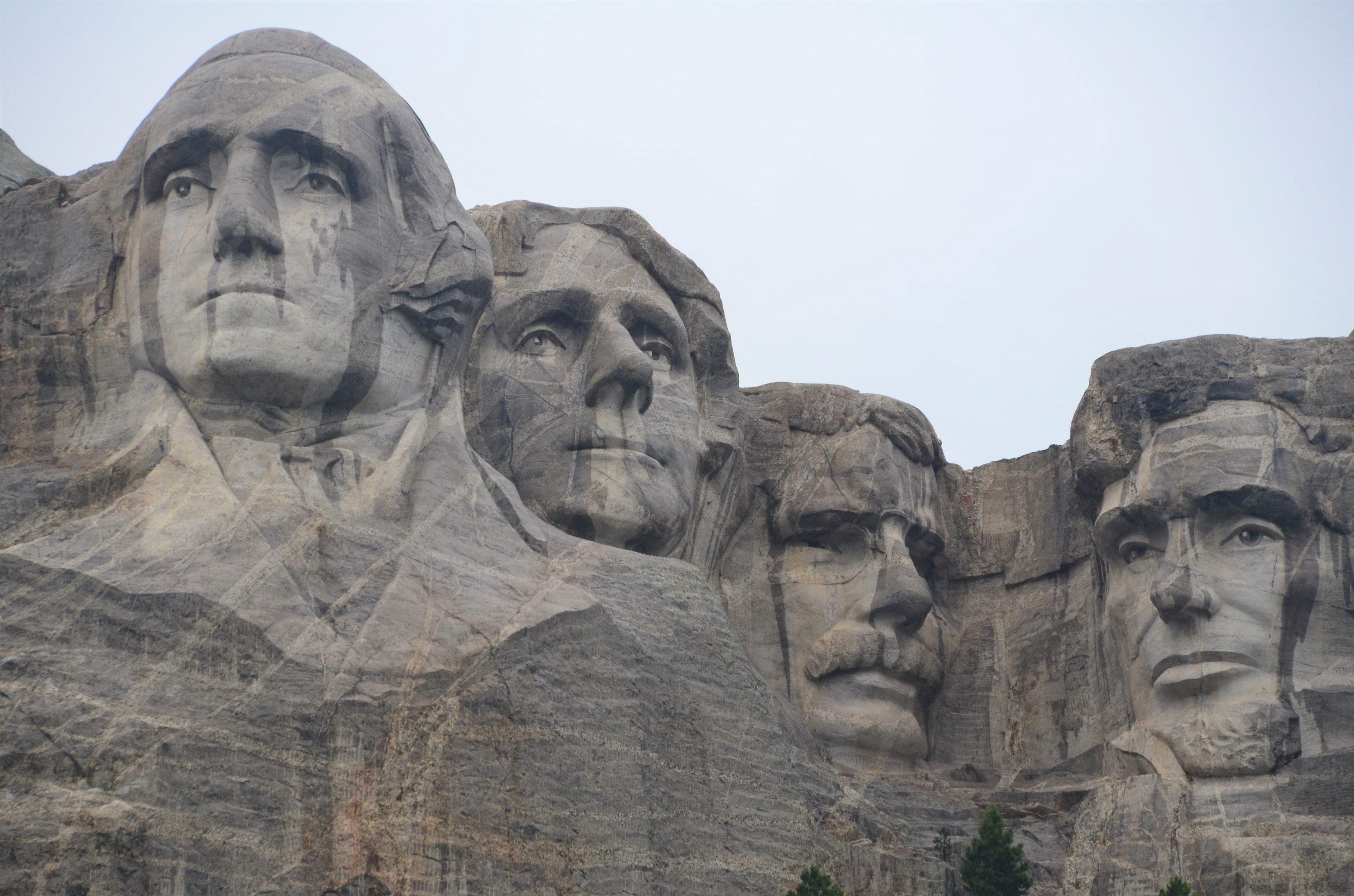 Mount Rushmore is a stunning site