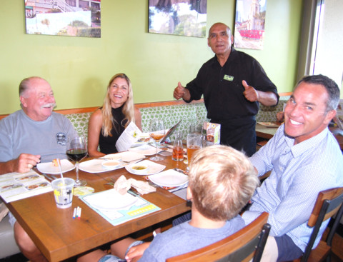 Local buser celebrates 25 years with eatery