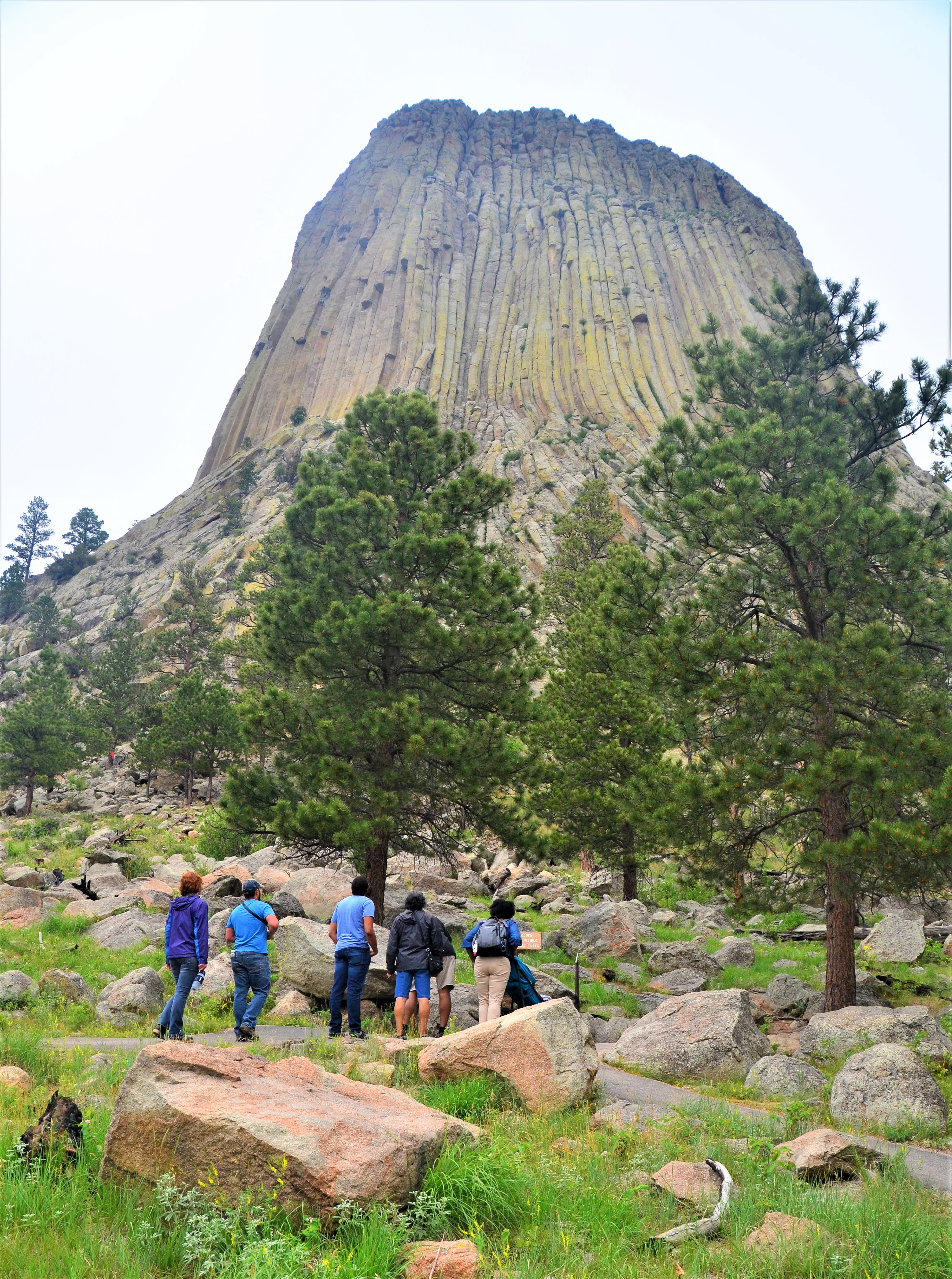 Close encounter with Devils Tower