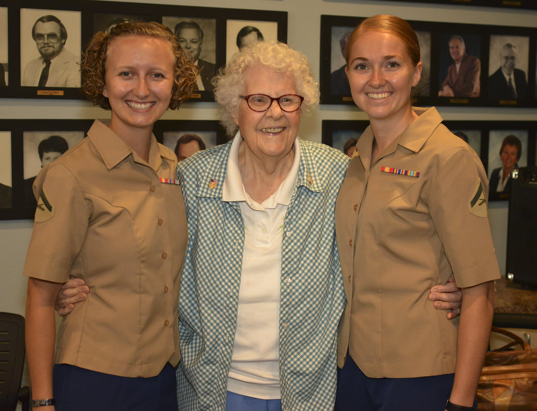 Chamber of Commerce celebrates history of women in Marines