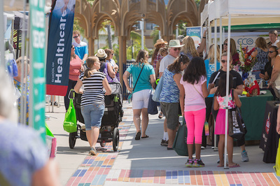 Wellness options abound at Oceanside health fair