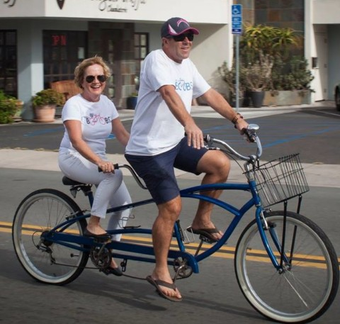 Bike for Boobs raises money for low-income women with breast cancer