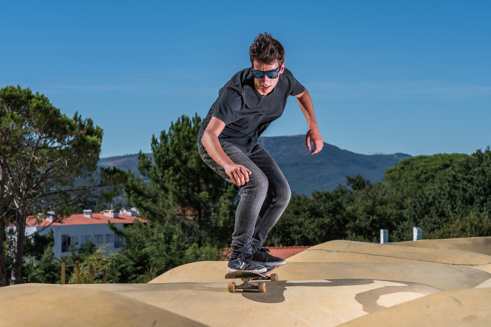 Thumbs up given to pump track and skate feature at Standard Pacific Park