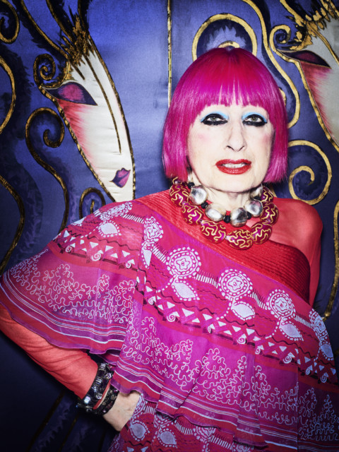 Life and times of fashion designer extraordinaire Zandra Rhodes