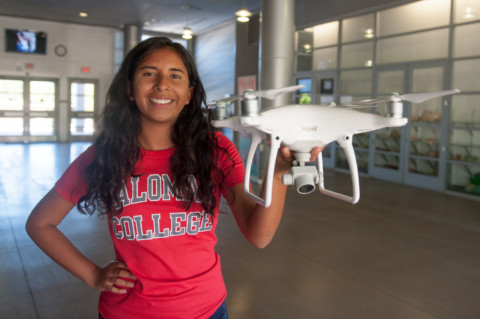 Palomar students invited to drone summit