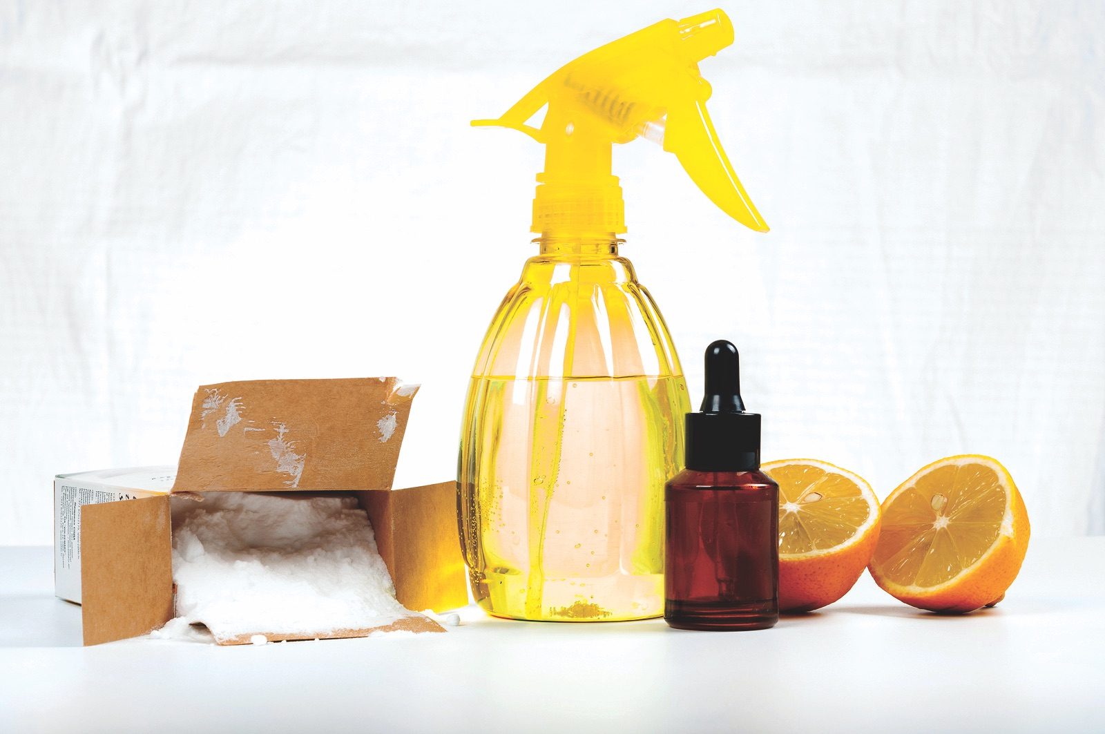 Simple ways to clean your home without toxic chemicals